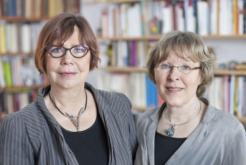 Die Biografinnen: Die preisgekrönten Autorinnen Gislinde Schwarz und Rosemarie Mieder.